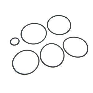 Junta tórica de silicona Junta de junta tórica de goma de silicona Juego de tornillos de orings para DEJAVU DJV RDTA Atomizador de tanque de vidrio Accesorios Repuestos