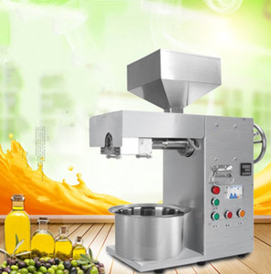 Commercial Use Oil Press Machine Automatic Temperature control Coconut Flax seed Sunflower Seed Oil Extraction Machine LLFA