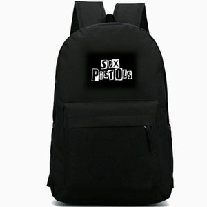 Sex Pistols backpack Quot daypack Johnny Rotten rock band schoolbag Music rucksack Sport school bag Outdoor day pack