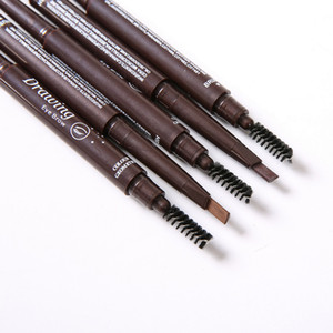 Auto Eyebrow Pencil With Brow Brush Waterproof Cosmetic Tool OA66