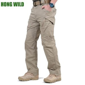 Tactical Cargo Pants IX9 City SWAT Armee Hosen Baumwolle Viele Taschen Stretch Man Casual Hosen