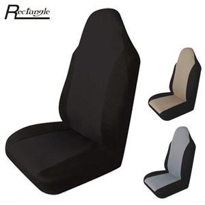 1 PCS Car Seat Covers Car Styling Capa de Assento Da Frente Único-peça de Embalagem À Prova D 'Água Anti-Poeira Almofada Cobre Protetor de Assento de Carro