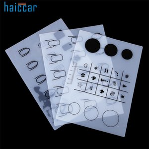 Beand New HAICAR 1PC Silicone Workspace Stamping Plate Washable Mat Table Transfer Tools For Nail Art Manicure Tool Pretty