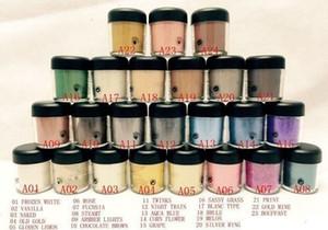 NUEVO 7,5 g pigmento de la sombra de sombra de ojos / mineraliza ojos con colores Nombre inglés 24 colores de color al azar envía)