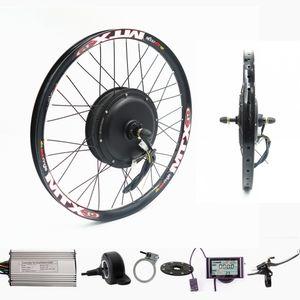 70 km / h 72 v 2000 Watt Hinterrad Motor Elektrische Fahrrad Kit Elektrische Fahrrad Umbausatz