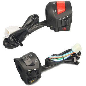 7/8 '' 22mm motocicleta guiador chifre turno interruptor de controle da lâmpada de sinal maravilhoso