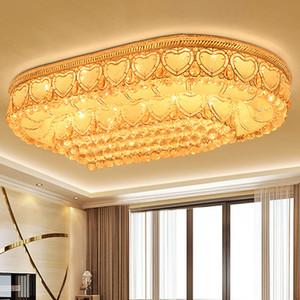 Светодиодные потолочные люстры заводская розетка роскошные благородные великолепные высокого класса K9 crystal chandelier hotel villa светодиодные потолочные люстры с лампочками