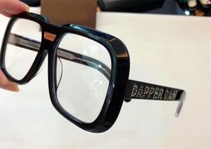 Nuevo diseñador de moda gafas ópticas marco cuadrado de calidad superior super popular avant-garde 0427 con caja