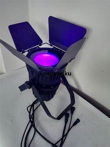 2 stücke 200 Watt COB par led-licht RGBWA UV 6N1 cob led spot 200 watt IP65 wasserdicht cob par kann licht mit scheunentor
