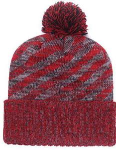Vendita calda Kansas City Beanie Sideline Cold Weather Graphite Revers ufficiale KC Sport Knit Hat Tutti i team inverno caldo in maglia di lana Skull Cap