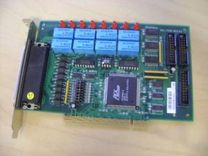 Carte de l'équipement industriel Sortie de relais adCH 8CH Carte PCI-7250 isolée 8 canaux 51-12007-0A40