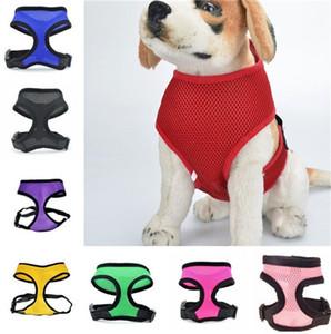 Venda quente de Moda líquido pano de estimação tiras de peito de cão bonito colete de Malha Macia de Estimação Chicote T3I0300