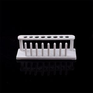 Il più nuovo tubo di prova di laboratorio di prova di laboratorio di plastica bianca di qualità eccellente 1PC cremagliera per tubi di centrifuga 8 posizioni