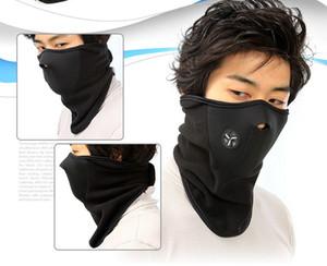 Winter Cycling Mask Thermal Fleece Half Face Maschera in neoprene Collo antivento Caldo Copricapo Outdoor Sci Snowboard Guard DDA588
