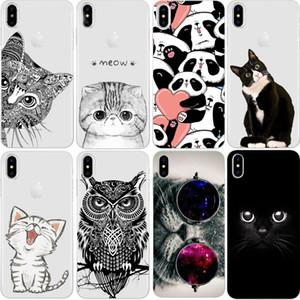 Custodia per iPhone X 8 4 4S 5 5S SE 5C 6 6S 7 Plus Silicone per Xiaomi Redmi 4 4A 3S 3 S Nota 3 4 5A Pro Prime 4X Mi A1 5X S2