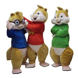 2018 новый бурундук талисман горячей продажи взрослых костюм талисмана аниме унисекс карнавальные костюмы продажа мышь бесплатная доставка