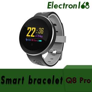 Colore Q8 Pro Smart Band Supporto cardiofrequenzimetro ossigeno monitor IP68 Impermeabile fitness tracker intelligente orologio da polso