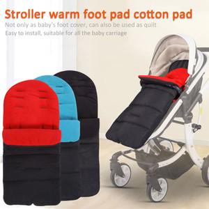 Новая Foot Изолированная крышка Универсальная Утолщенные Coon Маресс спальный мешок для новорожденных Коляски Коляска Оптовая