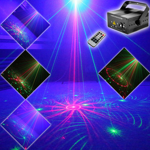 ESHINY Mini RG 5 Lens 96 Proiettore laser pattern Blue Led Club Party Bar DJ Holiday Disco Xmas Dance Lighting Stage Light N1T90
