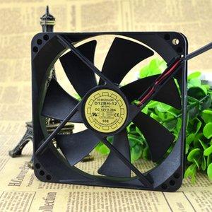 Pour les ventilateurs de refroidissement silencieux d'origine YaLn FAN Yuelun 12025 D12BH-12 DC12V 12CM