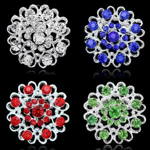 Square Brooches Pins Wedding Jewelry Heart shaped Crystal Brooches Large for Party Decoration Women Jewelry Gift Vintage
