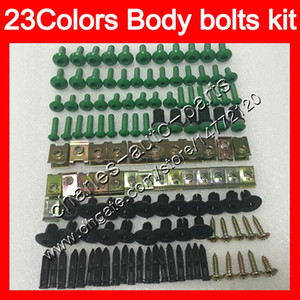 Bolts Bolts Полный винтовой комплект для Suzuki GSXR1300 Hayabusa GSXR 1300 96 2002 2003 2004 2005 2006 2007 Объединенные гайки винты гайки набор болтов 25 цветов