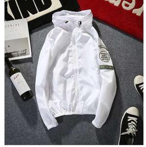 Yizlo ceketler ince ceket rüzgarlık streetwear hip hop rüzgar kesici rashguard