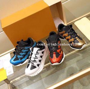 новый зигзаг высокое качество роскошные мужчины дизайнер спортивная обувь известный тренер скейтборд обувь из натуральной кожи обувь 8740033