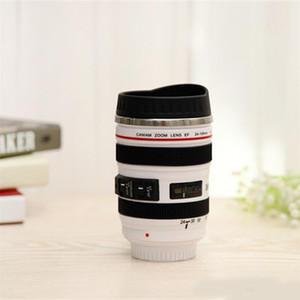 زجاجات المياه الإبداعية SLR عدسة الكاميرا صديقة للبيئة كوب والأكواب مع غطاء هدايا الجدة تصميم المحمولة 14fx ZZ جديدة