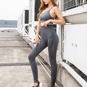 Mujeres Pantalones de yoga elásticos Cintura alta Tight Hip Sports Pants Fitness Casual Running Aerobics Pantalones al por mayor
