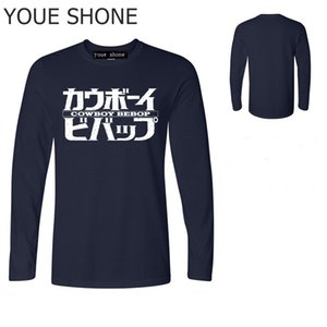 Vestidos verano vêtements à manches longues de créateur de mode hommes T-Shirt nouveauté Cowboy Bebop lettre imprimer T-shirts mens anime Tees polo T-shirts