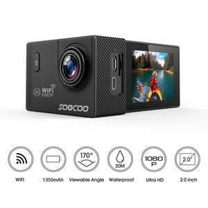 "wholesale C10S 1080P Action Sports Camera NTK96655 12MP Full HD 1080P 2.0"" LCD Screen 170 Wide Angle Lens 30M 98ft Waterproof"