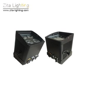 4pcs / Lot Zita Lighting LED Portable Battery Par Lights Wireless Stage Light Wall Wait Wall Wait Water Control IP65 Par Can Wedding DJ Discover