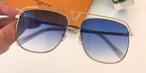 Lusso MASCOT Z1031E Occhiali da sole per unisex Moda Ovale 1031 design UV Protezione lente Rivestimento Specchio Lens Colore placcato Telaio Vieni con custodia