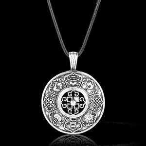 Nordic Viking амулет кулон хранитель тотем Викинг ожерелье личность выдолбленные символ Оптовая