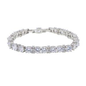 2018 Lab braccialetto di diamanti gioielli di fidanzamento per uomini bracciale di diamanti hiphop bling