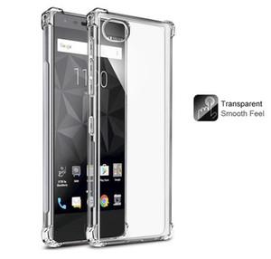 Pour BlackBerry Key2 Key 2 mouvement Blackberry / Blackberry Keyone Coque Soft Skin Gel TPU Silicium Transparent Coquille De Protection Couverture