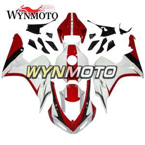 Regalos gratis Rojo Blanco Inyección de motocicleta Carenados completos para Honda CBR1000RR 2006 2007 CBR 1000RR 06 07 ABS Plastic Fairing Kit Personalizar Nuevo