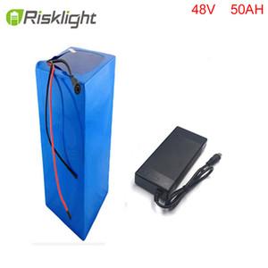 батарея электрического велосипеда 48v 50ah батарея ebike для 48v Bafang / 8fun 2000 Вт / 750 Вт / 1000 Вт среднего / центрального привода с BMS + зарядное устройство