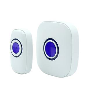 Waterproof Wireless Digital Doorbell 38 Chime Doorbells 433.92MH Operate Frequency 2018 new High Quality US Plug