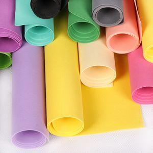 Schiuma di carta EVA 50 * 50cm Schiuma di fogli di carta spugna Fai da te materiale del mestiere del fiore Accessori fai da te Foglio di schiuma di carta spugna EVA Punch Craft