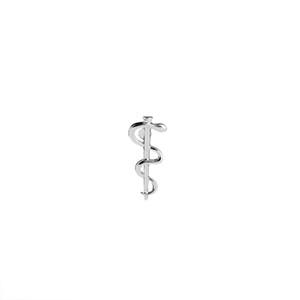 Logo Organização Mundial de Saúde OMS Broche Símbolo médico Farmácia Wellness Cobra Caduceu Pinos do emblema Presente Para Doutor Nutrição