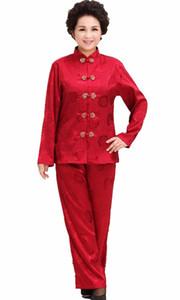 Шанхай история с длинным рукавом китайский традиционная одежда тай-чи одежда набор кунг-фу униформа artes marciais для женщин Тан ткань
