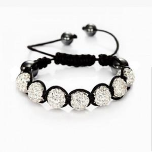 New Mix Couleurs Sales Promotion 10mm Cristal AB Clay Disco Shambala Bracelets meilleur cadeau