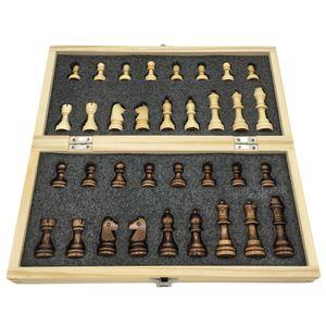 Деревянные шахматы складной шахматная доска с магнитной шахматной доской размер 29 см х 29 см детский подарок турнир Игра