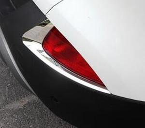 고품질 ABS 크롬 2 개 후면 안개등 장식 커버, 2015 년 르노 Kadjar 안개 조명 장식 트림