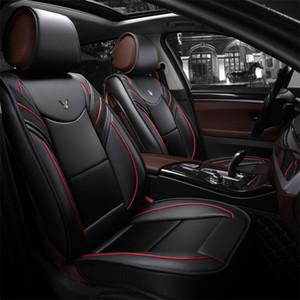 Accessoires de voiture universels Couvertures de siège de voiture intérieur pour la berline Entouré Conception Durable PU cuir Sièges Couvre Pour SUV