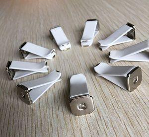 100 unids / lote ornamento del coche ABS clip de ventilación de automóviles perfume condimento Clip decoración DIY Auto acondicionador de aire Outlet Clips accesorios