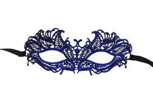 (200 pièces / lot) Nouvelle fête fournitures masque de dentelle rétro couleur métallique Les femmes dress up masques SN1164