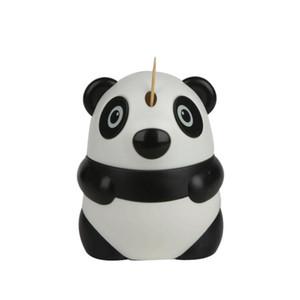 Автоматический держатель зубочистки мультфильм панда дизайн милый дозатор зубочистки ресторан украшение стола оптовая продажа бесплатная доставка ZA6258